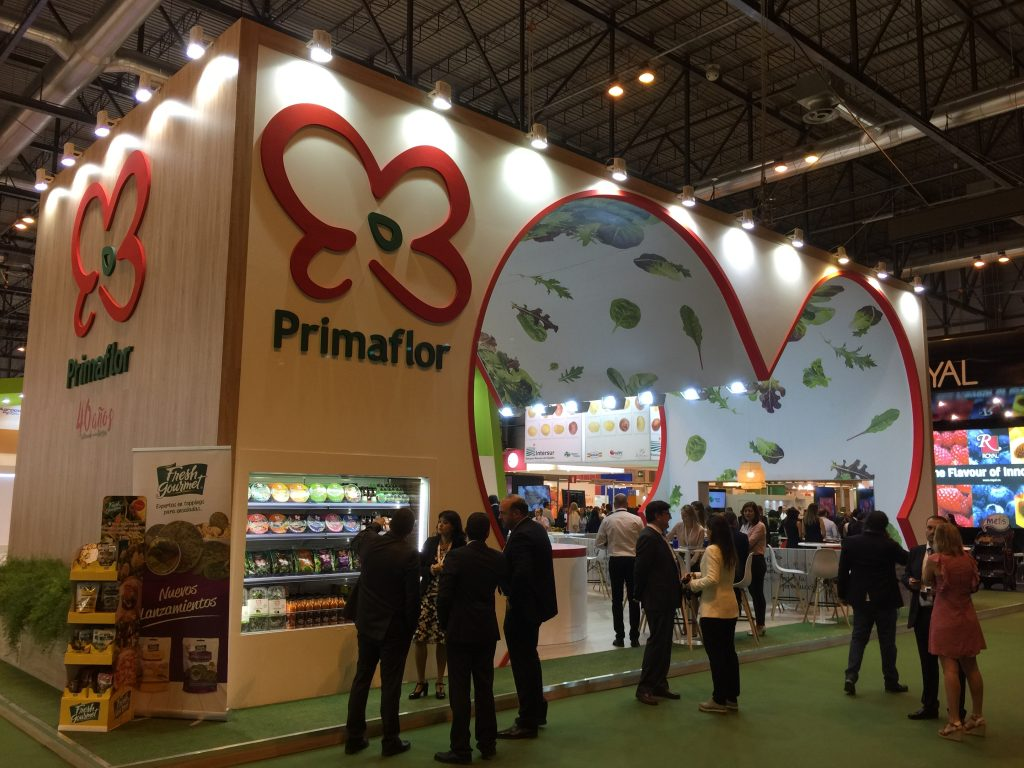 Stand Primaflor para Fruit Attraction 2016