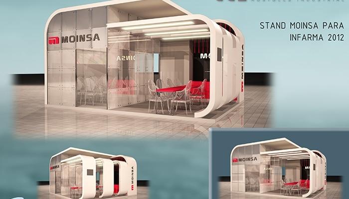 Stand Moinsa - INFARMA 2012