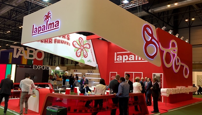 Stand La Palma para Fruit Attraction 2016