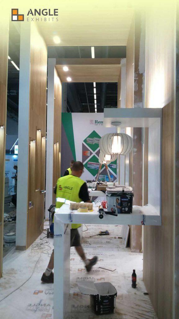 montaje stand cphi 2017