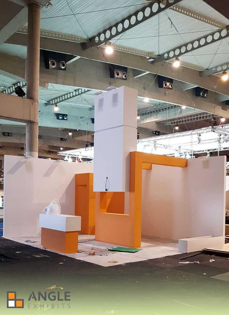 ANGLE EXHIBITS BUILDING STAND SMART CITY BARCELONA
