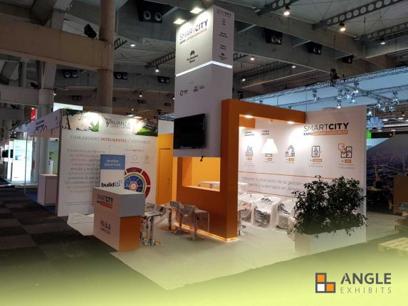ANGLE EXHIBITS STAND SMART CITY 2017