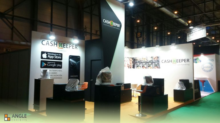 stands para las ferias madrid angle exhibits