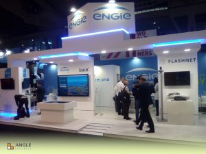ANGLE EXHIBITS STAND SMART CITY BARCELONA 2018