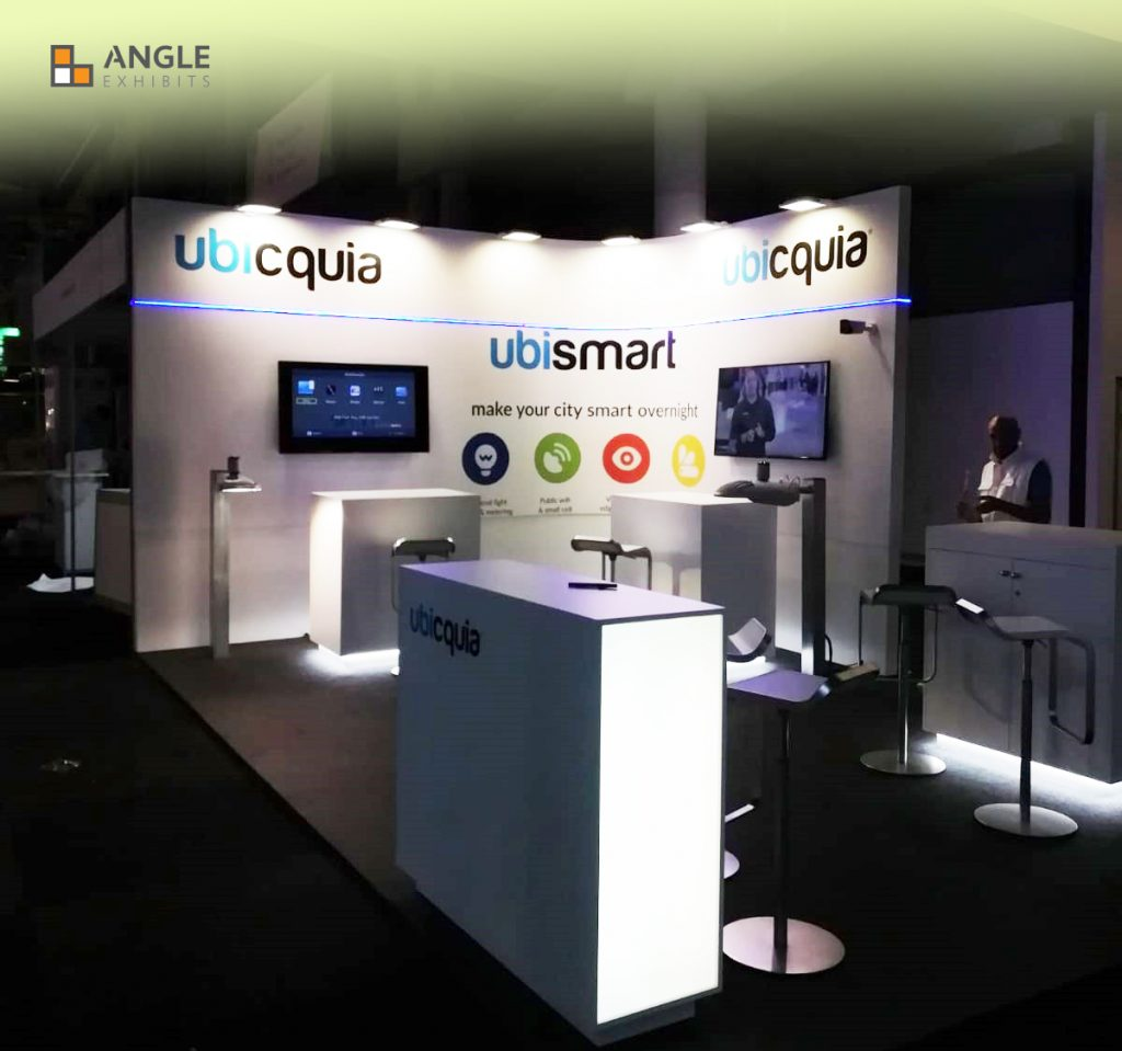 ANGLE EXHIBITS STAND SMART CITY BARCELONA