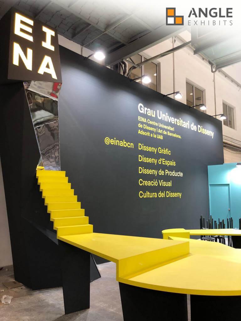 CCIB Barcelona angle exhibits