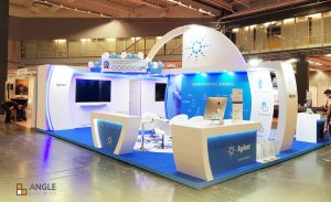 ANGLE EXHIBITS stand
