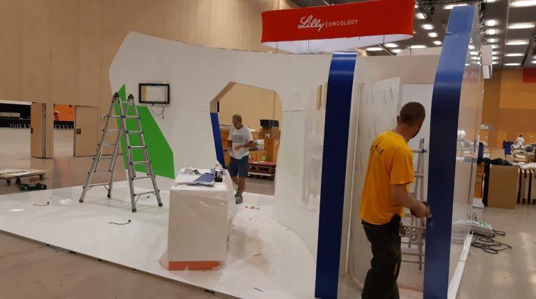 Empresa de montaje de stands angle exhibits