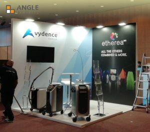 Angle exhibits diseño y contrucción de stand