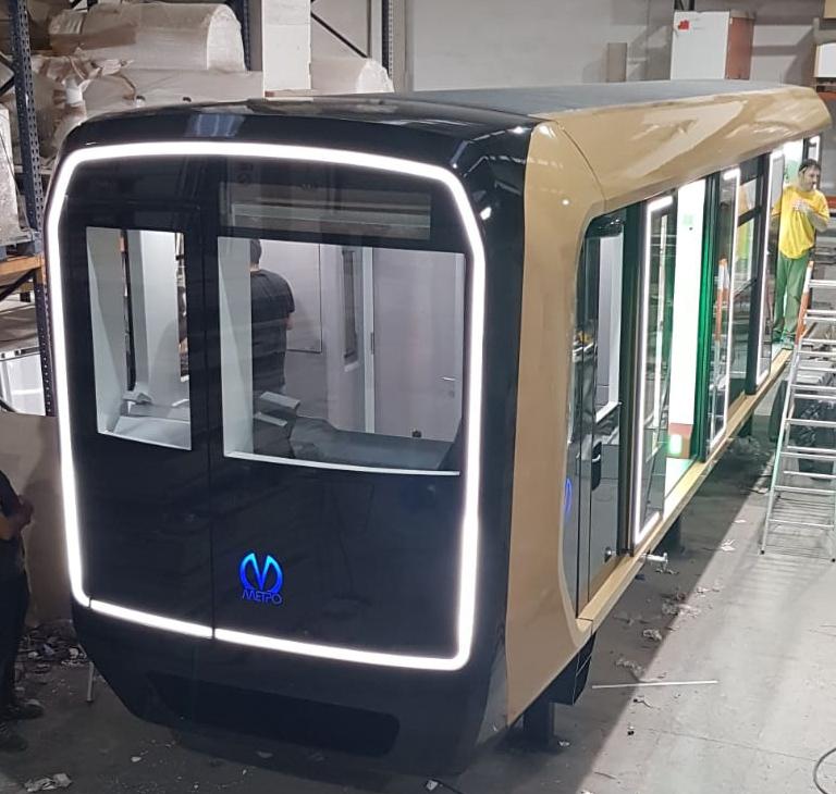 proyectos angle exhibits maqueta vagón tren