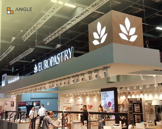 colonia ANGLE EXHIBITS EUROPASTRY