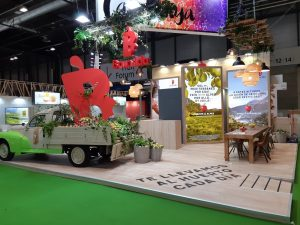 ferias angle exhibits stands