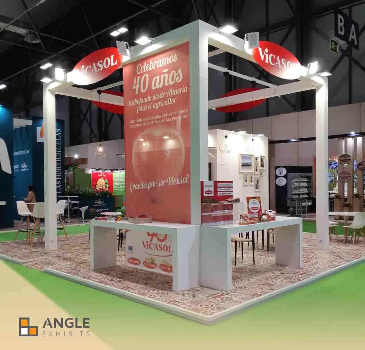 Fruit attraction stands angle exhibits