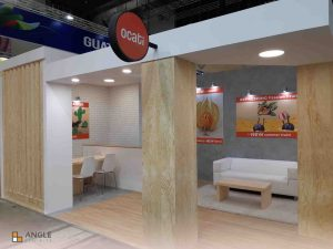 Fruit Logistica angle exhibits stands
