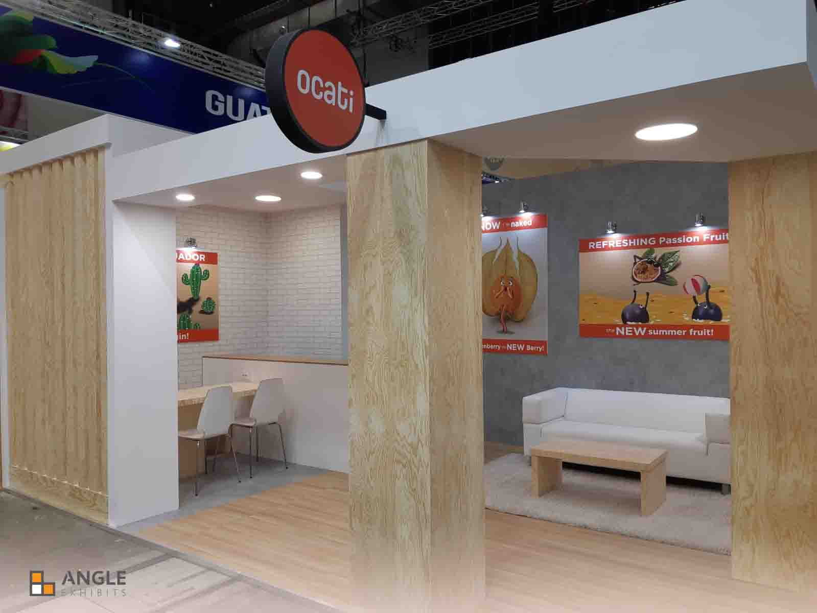 Fruit Logistica Angle exhibits