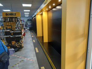 retail para negocios angle exhibits