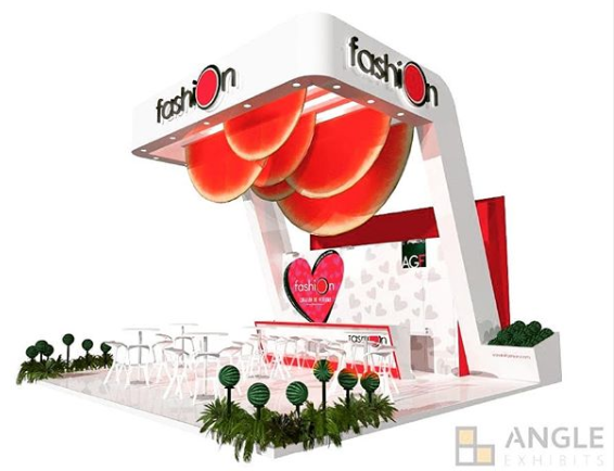 Madrid Fusion diseño stands ferias angle exhibits