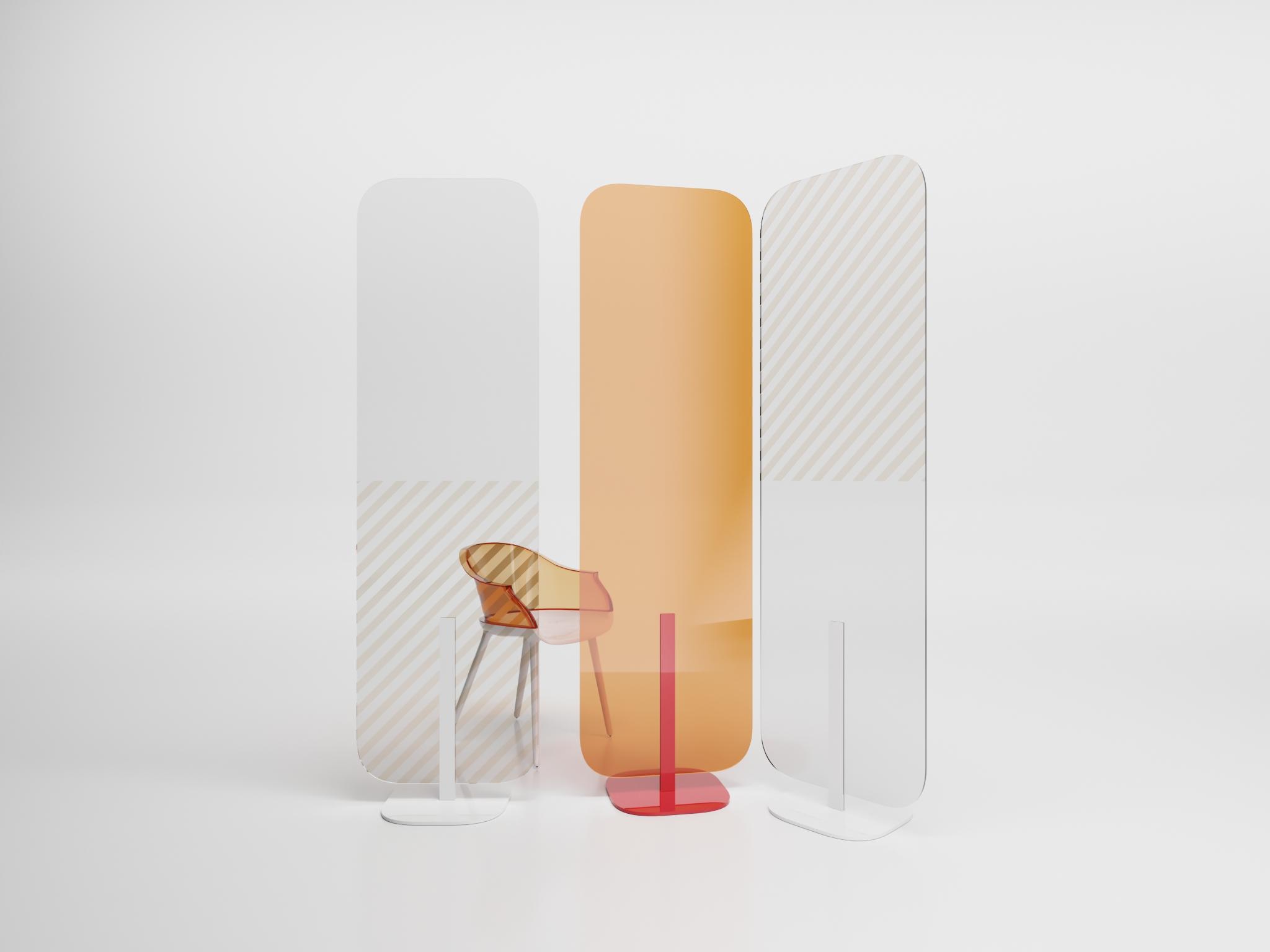 Elementos de protección angle exhibits